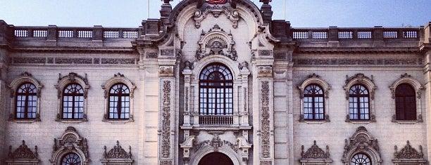 Palacio de Gobierno is one of Perú, Lima..