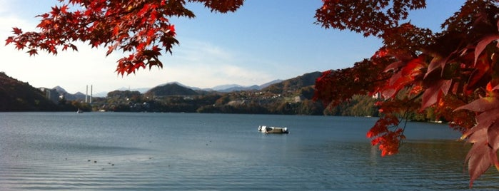 相模湖 is one of サイクリング大好き♥.