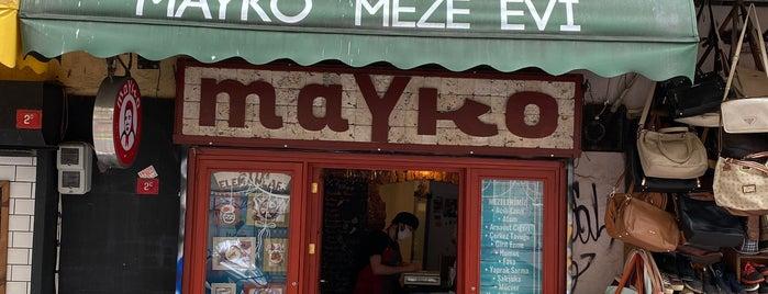 Mayko Meze Evi is one of Taksim Yemek-Kafe.