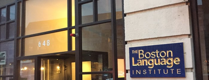The Boston Language Institute is one of Lugares favoritos de Lenn.
