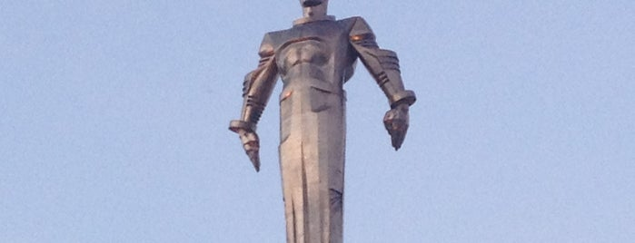 Yuri Gagarin Monument is one of Moscow.