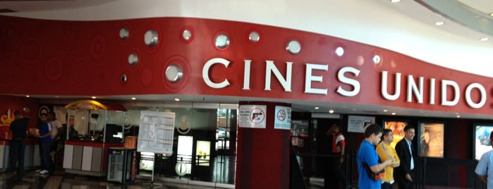 Cines Unidos is one of Lugares favoritos de Raiza.