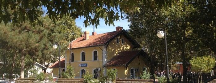 Pozantı Tren İstasyonu is one of Lugares favoritos de Sezgin.