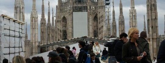 Duomo di Milano is one of Top 100 Check-In Venues Italia.