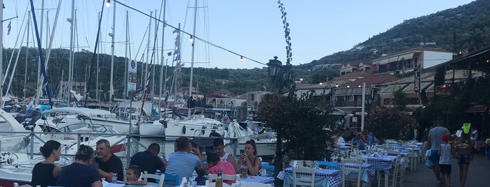 Stavros Taverna is one of Lefkada.