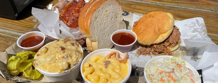 Slap's BBQ is one of Kansas City Eats.