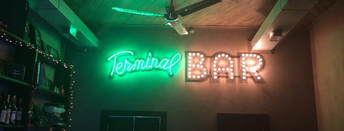 Terminal Bar is one of Gordin's Guide to St. Petersburg.