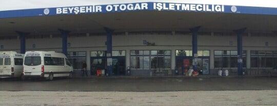 Beyşehir Otobüs Terminali is one of Yakup'un Kaydettiği Mekanlar.