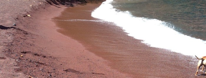 Red Sand Beach is one of Hawaii honeymoon.
