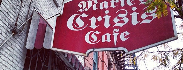 Marie's Crisis Cafe is one of NYC - eating, drinking, working.