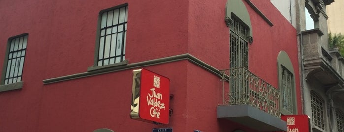 Juan Valdez Café is one of Por amor al café.