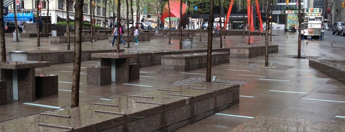 Zuccotti Park is one of Lieux qui ont plu à P.