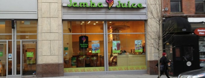 Jamba Juice is one of Food NY 2.