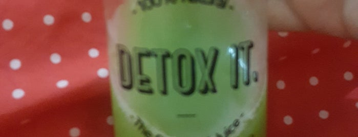 Detox It is one of Ana Gabriela'nın Beğendiği Mekanlar.