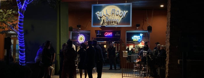 Full Moon Saloon is one of Arizona's Music Venues.