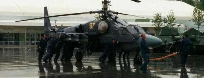 Военно-патриотический парк «Патриот» is one of สถานที่ที่ Dmitry ถูกใจ.