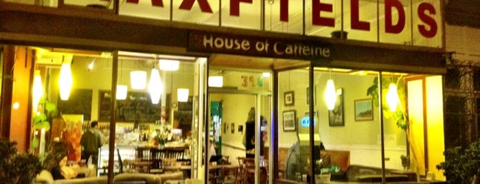 Maxfield's House of Caffeine is one of SF Coffee.