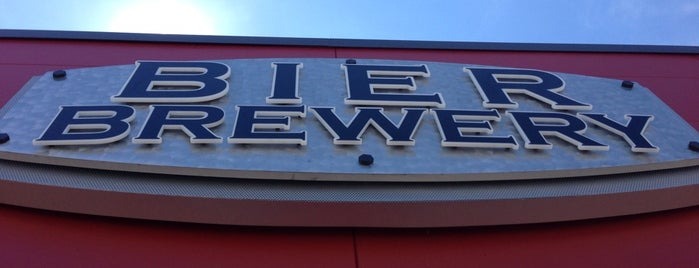 Bier Brewery Taproom is one of Indianapolis.