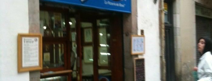 Pizzas l'Àvia is one of Cheap Eats Barcelona 5-10€.