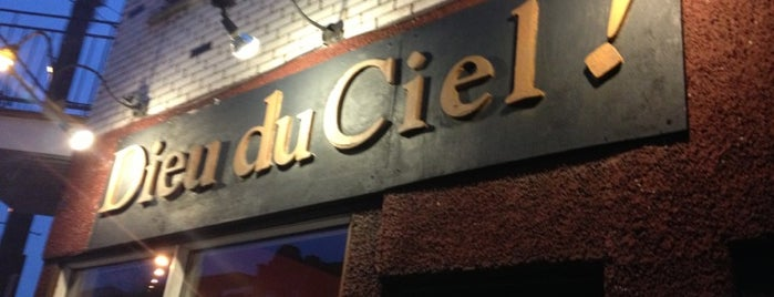 Dieu du Ciel! is one of Mes plans A.