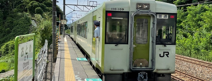 乙女駅 is one of JR 고신에쓰지방역 (JR 甲信越地方の駅).