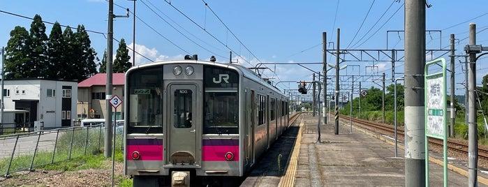 神宮寺駅 is one of JR 키타토호쿠지방역 (JR 北東北地方の駅).