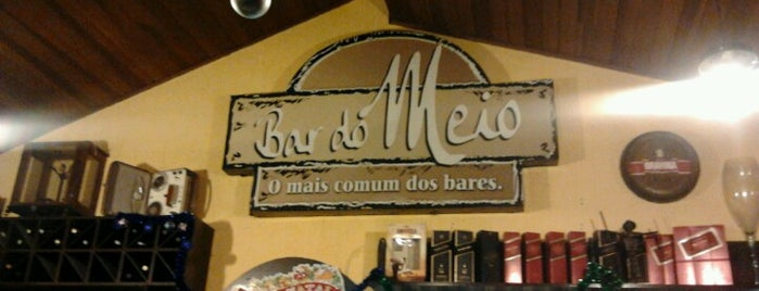 Bar do Meio is one of Locais salvos de Felipe.