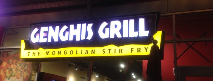 Genghis Grill is one of Check these places out .