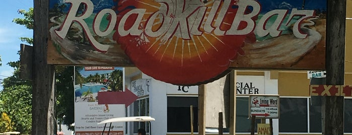 Road Kill Bar is one of Belize.