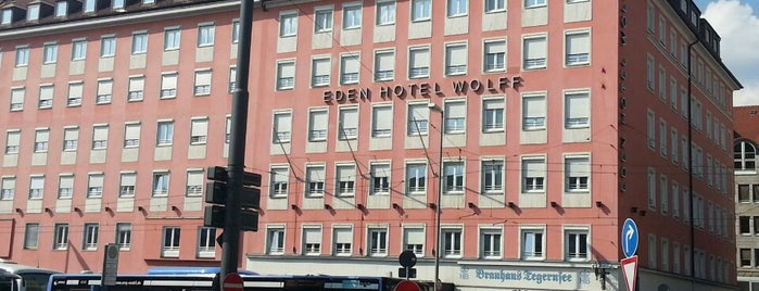 Eden Hotel Wolff is one of munich.