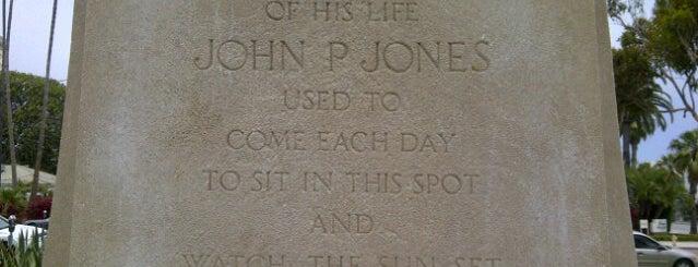 John P. Jones Memorial Bench is one of Michael : понравившиеся места.