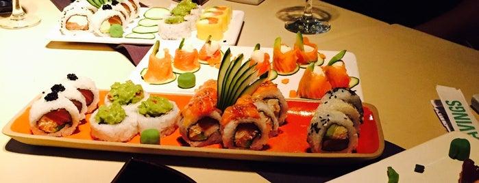 Sushiworld is one of Lieux sauvegardés par Estela.