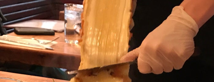 Raclette is one of Mediterranean/European.