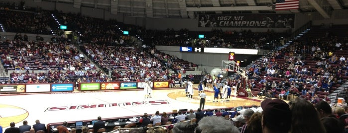 SIU Arena is one of NCAA Division I Basketball Arenas/Venues.