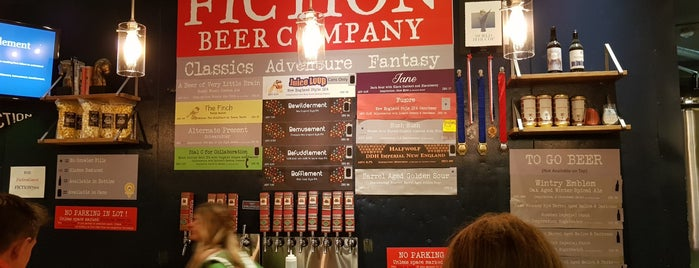 Fiction Beer Company is one of Tempat yang Disukai Daniel.