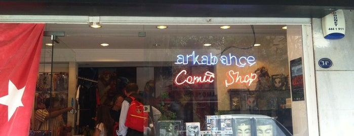 Arkabahçe Çizgi Roman Dükkanı is one of İzmir.