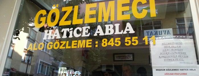 Meshur Gözlemeci Hatice Abla is one of สถานที่ที่บันทึกไว้ของ Emre.
