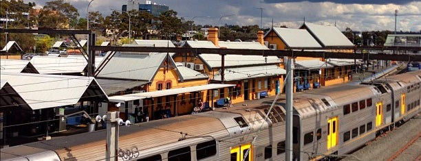 Campbelltown Station is one of Locais curtidos por Talha.
