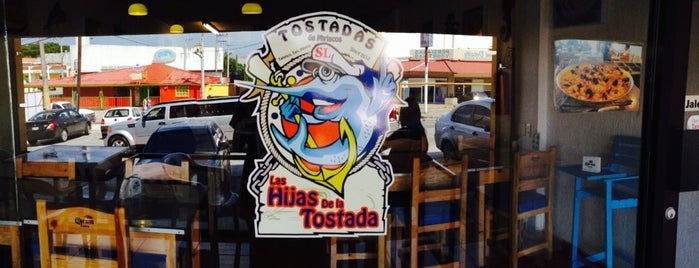 Hijas de la tostada is one of สถานที่ที่บันทึกไว้ของ Flor.