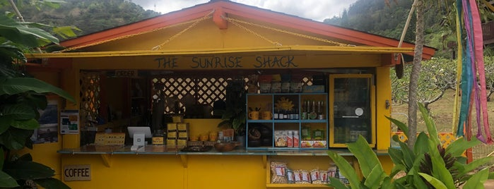 The Sunrise Shack is one of USA lijst.