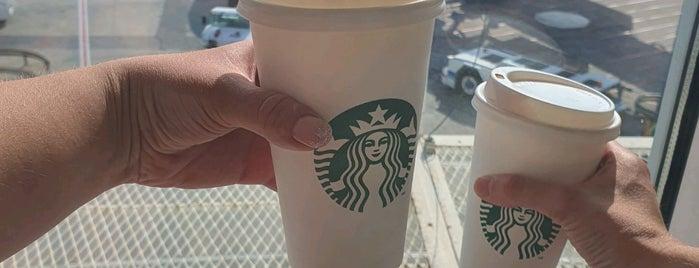 Starbucks is one of Gidilen Yerler.