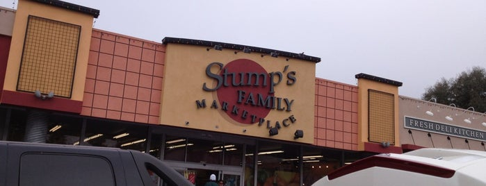 Stump's Family Marketplace is one of Where to find Sauce Goddess in California.