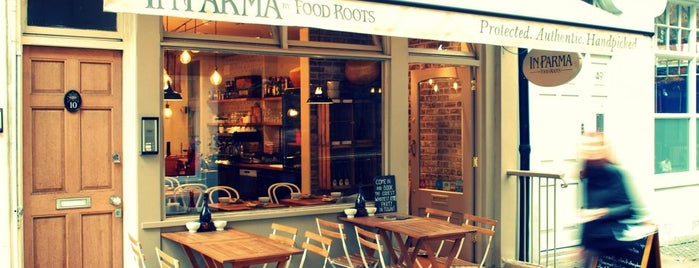 In Parma by FOOD ROOTS is one of Locais salvos de Tiziana.
