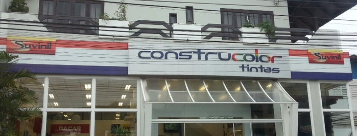 Construcolor Tintas is one of Locais curtidos por Leandro Luiz.