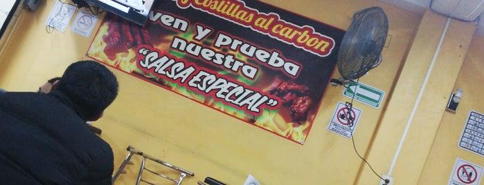 alitas y costillas al carbon is one of สถานที่ที่ Mariana ถูกใจ.