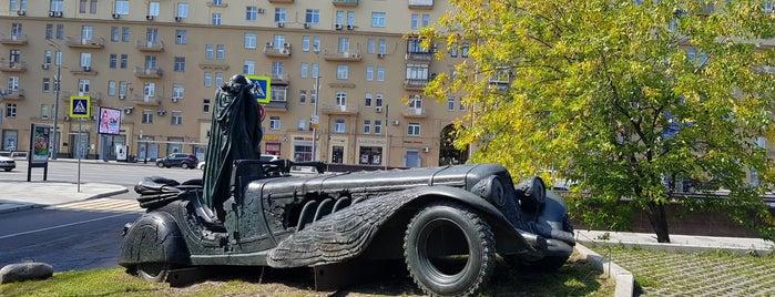 Фрагмент памятника М.А. Булгакову is one of Александр : понравившиеся места.