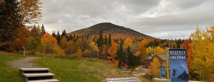 Parc National du Mont Mégantic is one of US.