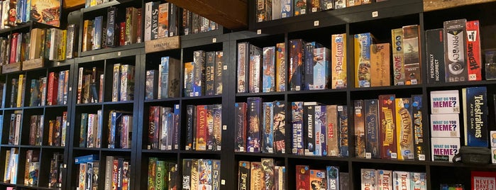 The Loft Board Game Lounge is one of Canadá.