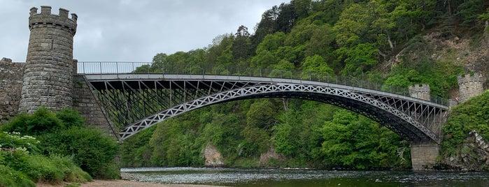 Craigellachie Bridge is one of Lugares favoritos de Richard.