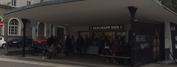 Bergmann Bier Kiosk is one of 4sq365de (1/2).
